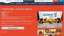 2020_04_24_10_53_03_Foraksel_Volvo_A25_D_Reservedele_til_entreprenørmaskiner_Brugte_reservedele_