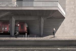 Carlsberg Byens  station åbner nu