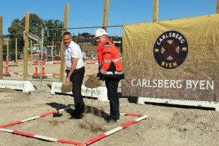 Nu starter to byggerier i Carlsberg Byen
