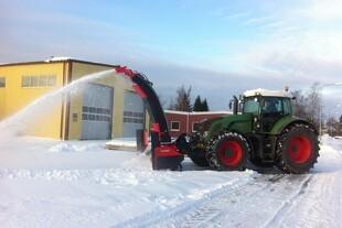 Nye snefræsere sikrer jævn fart