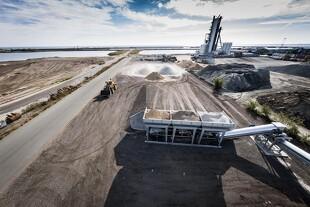NCC skal producere ovntørret sand