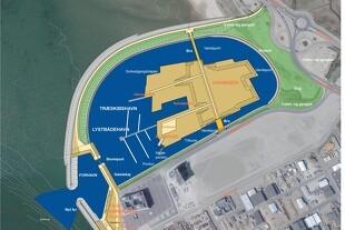 Ny havneø bygges ved Esbjerg