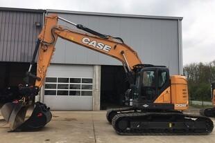 Case leverer første eksemplar af ny gravemaskine