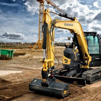 En ægte zero tail gravemaskine, som sætter nye standarder for ydelse!