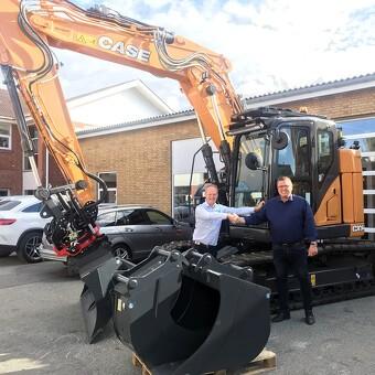 KLU Materiel Nord A/S køber ny Case CX145 DSR