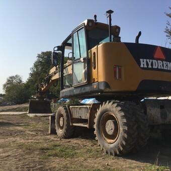 HYDREMA MX18 gummihjuler