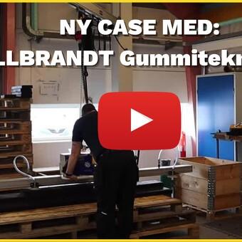 CASE: Ny vakuumløfter fra Schmalz til WILLBRANDT Gummiteknik