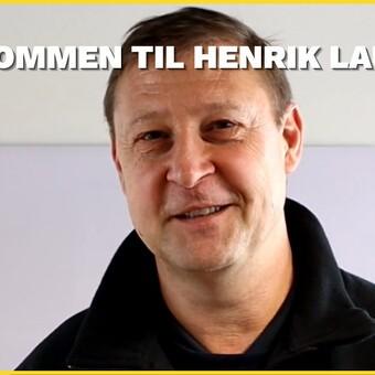VELKOMMEN TIL HENRIK LAURITSEN!