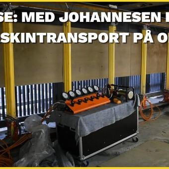 CASE: Med Johannesen Kran & Maskintransport på opgave