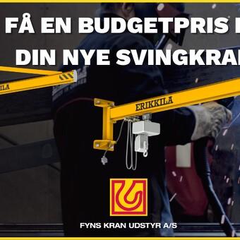 Nemt og hurtigt: Få en budgetpris på din nye svingkran!