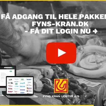 Få adgang til hele pakken på fyns-kran.dk - få dit login nu!