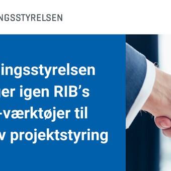 Bygningsstyrelsen vælger igen RIB's IKT-værktøjer til effektiv projektstyring.