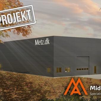 Nyt lager til Baxx & Metz i Nivå