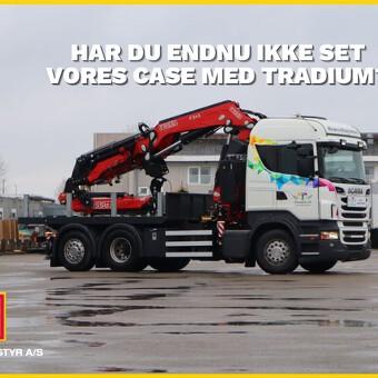 Har du endnu ikke set vores case med Tradium?