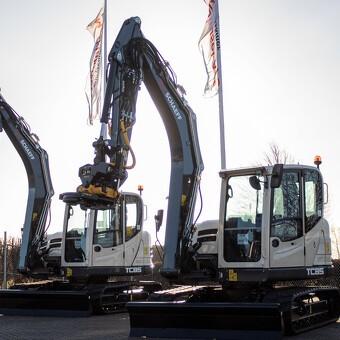 2019: Første læs gravemaskiner med ekstra meget på udstyrs-listen