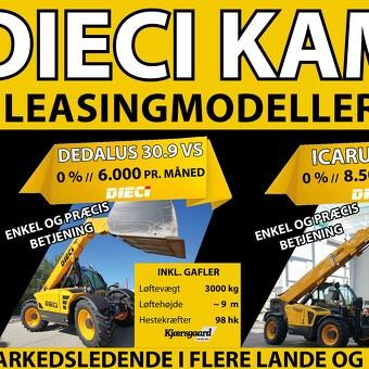 SDK lancerer 0% rente på DIECI teleskoplæssere