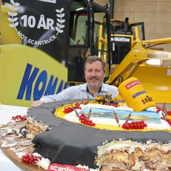 Fra tilbehør til 36 tons sorterer langet over disken på ScanMek