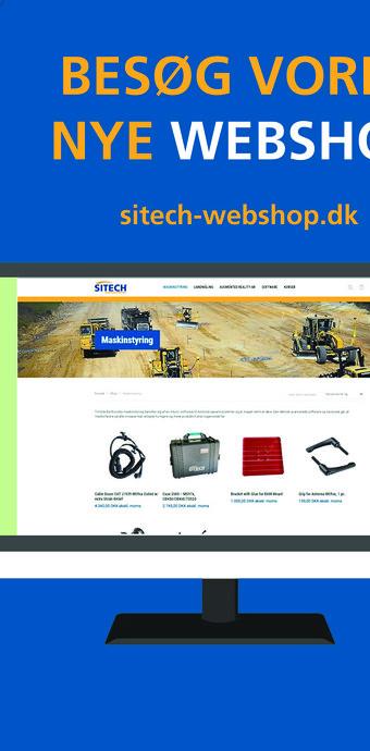 Ny webshop hos SITECH Danmark