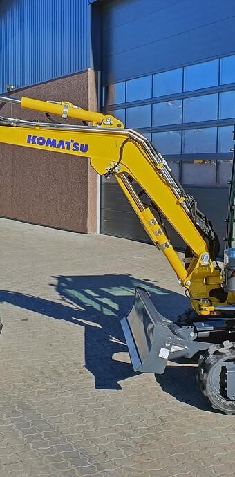 Komatsu opgraderer populære minigravere