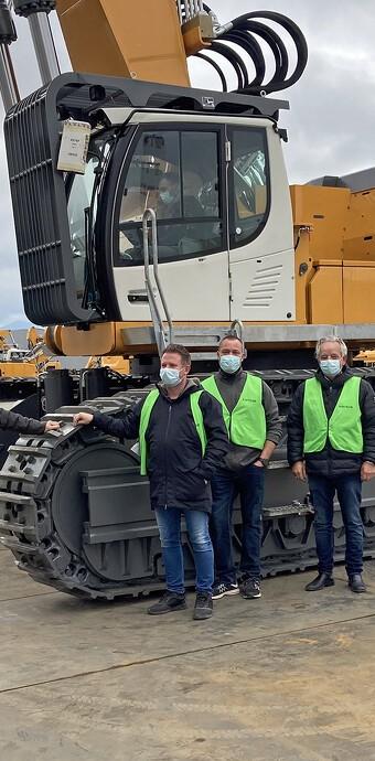 Dansk nedriver køber største Liebherr-maskine