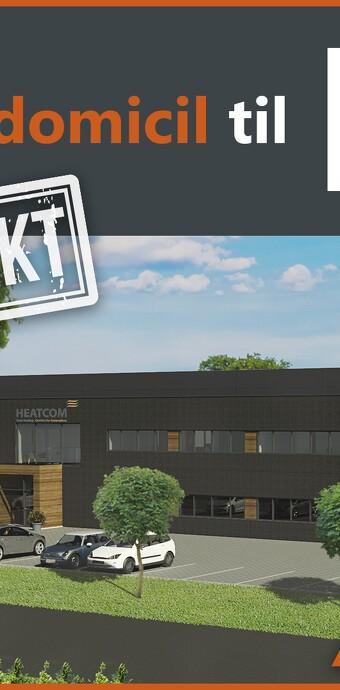 Flot nyt firmadomicil til Heatcom Corporation A/S
