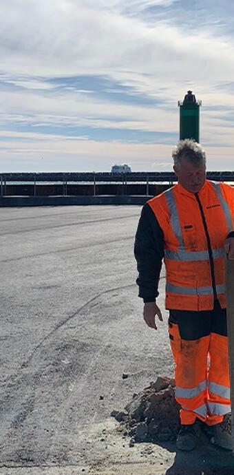 Sikkerhed og havneudvidelse på Skagen Havn