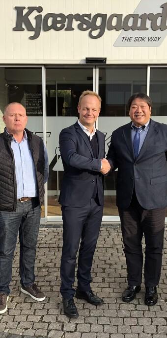 Mikasa indtager Danmark sammen med SDK