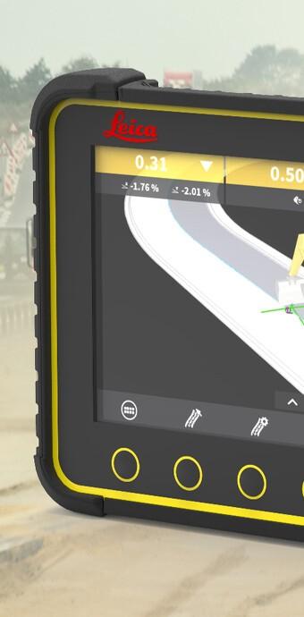 Leica Geosystems øger digitaliseringen i byggeriet med nye maskinstyringsløsninger