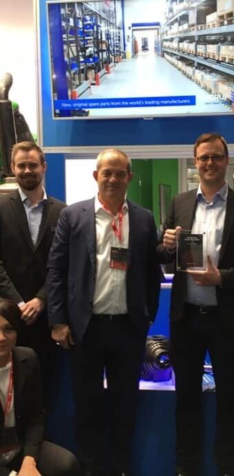 SJØRUP GROUP A/S kåret til Årets Carraro distributør