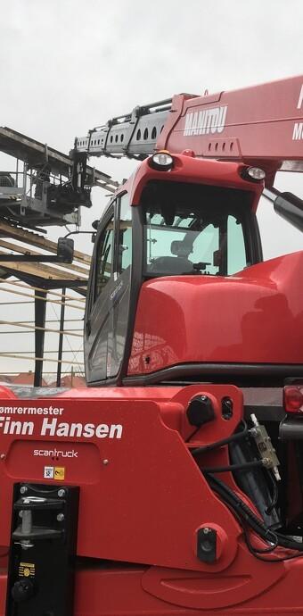 Større byggeopgaver krævede større maskine