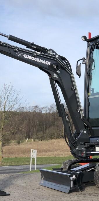 Ny 2,2 tons minigraver fra Eurocomach