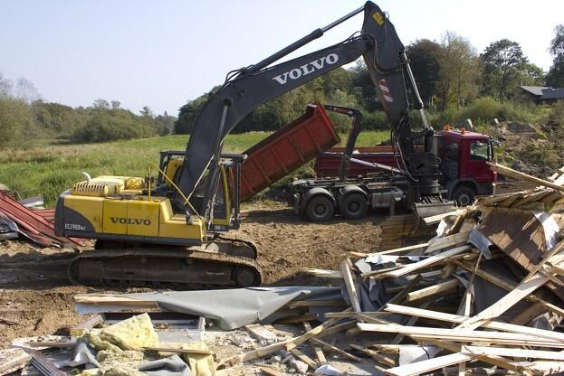 Skal din gravemaskine eller andet entreprenørmateriel udskiftes, så husk at søg om energitilskud. Arkivfoto: Kim Ebbesen.