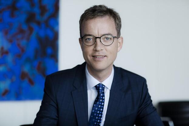 """- Hvis vi kan være """"first mover"""" på dette område, kan teknologien bag have stort eksportpotentiale for Danmark til udlandet, siger miljø- og fødevareminister Esben Lunde Larsen. Foto: Claus Bjørn."""