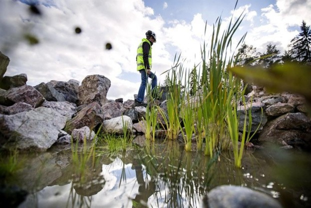 En grusgrav kan være et godt miljø for dyr og planter. PR-foto.