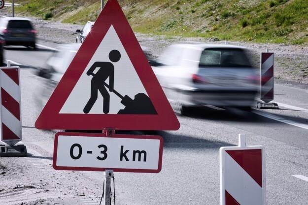 Problemer med sikkerheden ved mange vejarbejder