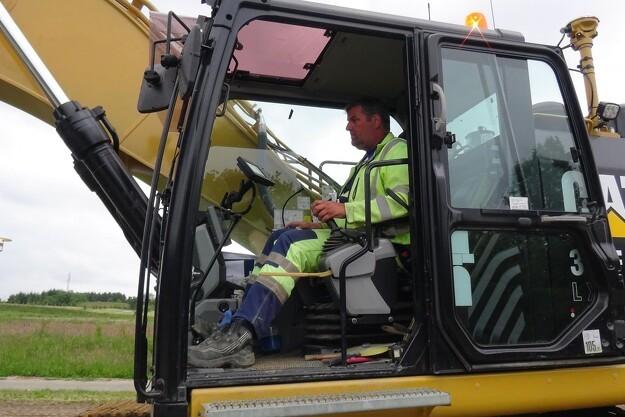 Cat-vejesystem maksimerer læsningen af lastbiler