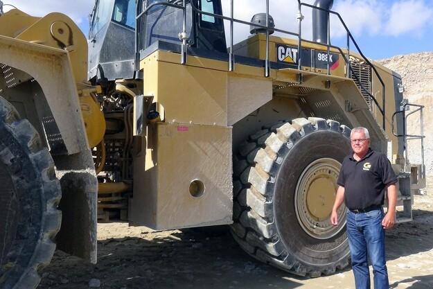 55 tons Cat til Nymølle Stenindustri