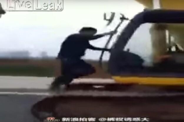 Fredagsvideo: Gravemaskine eller løbebånd?