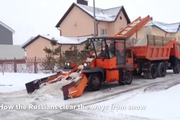 Fredagsvideo: Snerydning på russisk