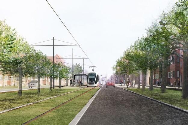 Spansk entreprenørfirma skal anlægge Odense Letbane