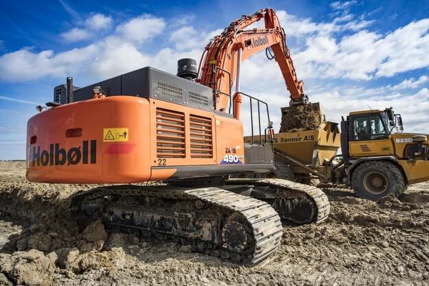 Gigantisk jordprojekt krævede ekstra maskininvestering