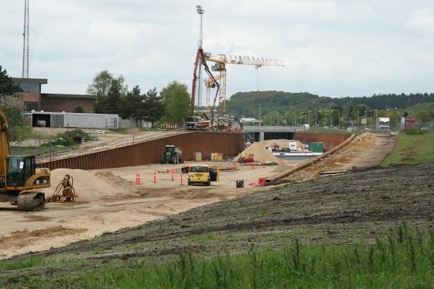 Silkeborgmotorvejen skal have ekstra dræn