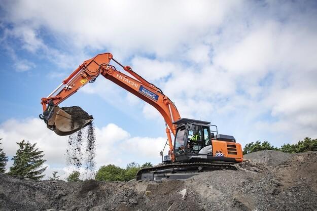 Stærk gravemaskine til knusende effektiv nedbrydning