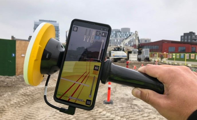 Augmented Reality med Trimble SiteVision