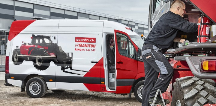 Scantruck hædret for god service