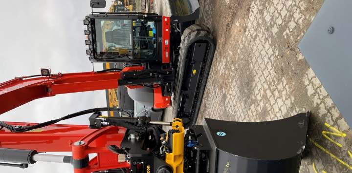 Rotationssensorer for mindre swingbom´s gravemaskiner
