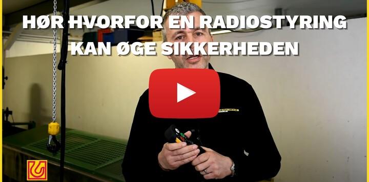 Hør hvorfor en radiostyring kan øge sikkerheden