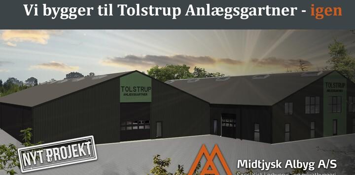 Endnu en ny lagerhal til Tolstrup Anlægsgartner