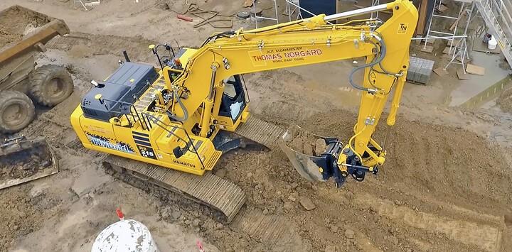 Ny hybrid-graver som en af de helt store sparegrise