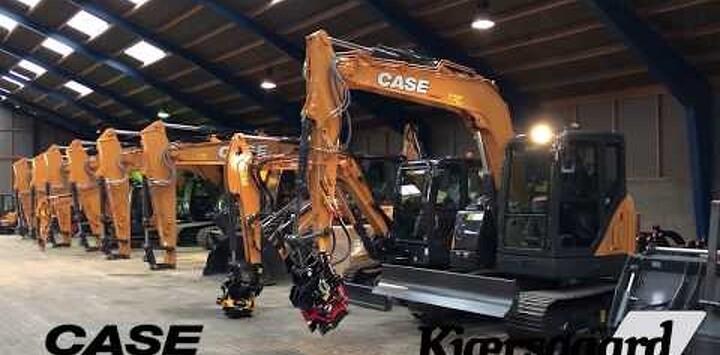 CASE Gravemaskiner fra 15 til 35 ton på lager